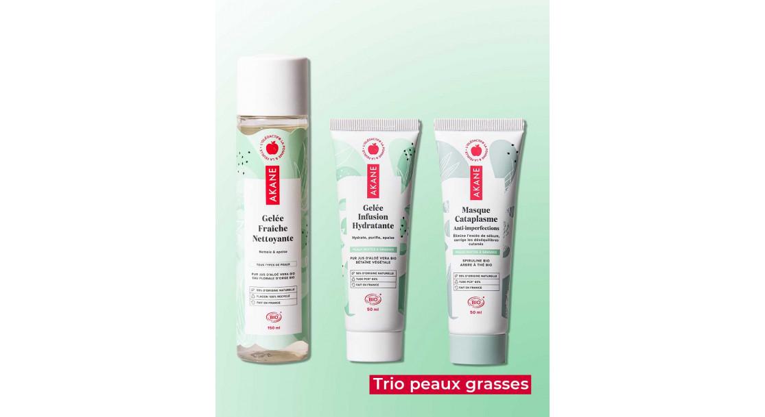 Trio peaux grasses