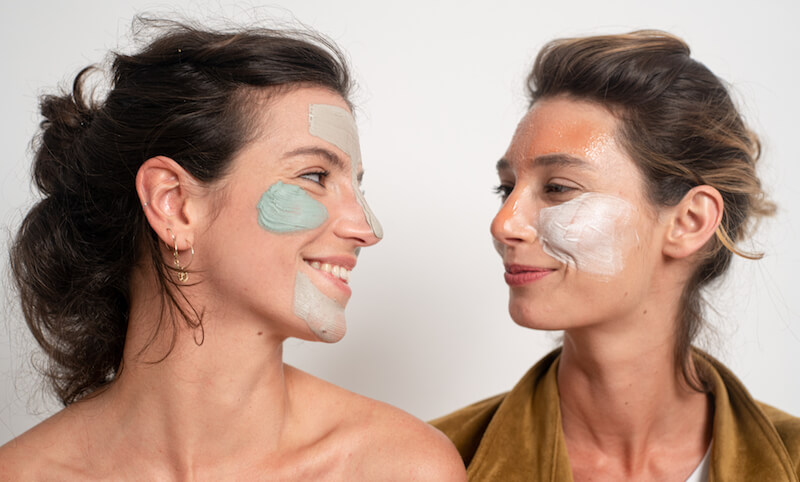 multimasking ritual for dilated pores